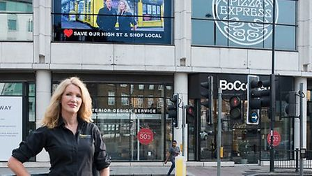 Fiona Bowrey of Snappy Snaps in Swiss Cottage is campaigning to get Camden to encourage customers to