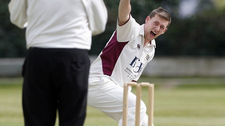 Liam O'Driscoll was the pick of North Middlesex's bowlers with three wickets, and he then hit 53 off