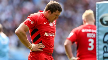 Alex Goode made his 300th appearance for Saracens against Wasps (pic PA)