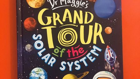 Another book in the library is Dr Maggie's Grand Tour of the Solar System by Maggie Aderin-Pocock. P