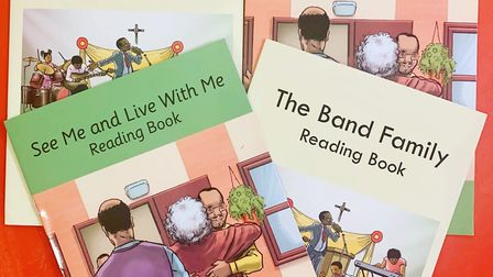 The Band Family reading book. Picture: Rachel Sewell
