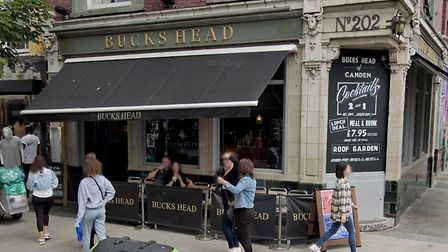 """The Bucks Head voluntarily closed its kitchen in March after inspectors found it posed an """"imminent"""