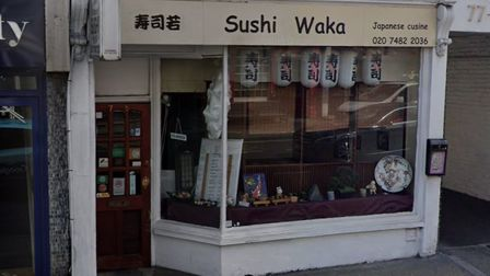 Inspectors who visited Sushi Waka found mouse droppings and ordered a 'thorough deep clean'. The res