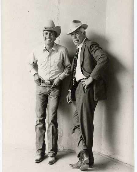 Paul Newman and Lee Marvin