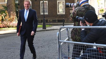 Digital, Culture, Media and Sport Secretary Oliver Dowden arrives in Downing Street, a cabinet meet