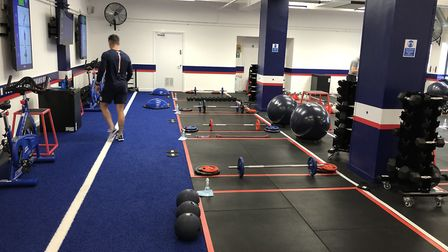 The F45 Highgate gym has lots of measures in place to keep members safe. Picture: Franki Berry
