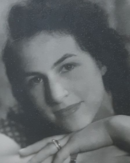 Alice Frank in her 20s. In 1942, she married a dentist at Hampstead Town Hall. Picture: Jewish Care