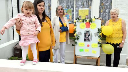 Toddler Penny's sister Holly died due to childhood epilepsy in April, now her mum, grandma and great