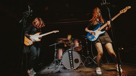 Cheerleaderz play at The Victoria in Dalston. Picture: Nick Letchford