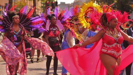 Performers in Hackney Carnival 2019. Picture: Harris Shoots