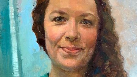 Nina Davies, as painted by Charlotte Johnstone. Picture: Royal Free/Charlotte Johnstone