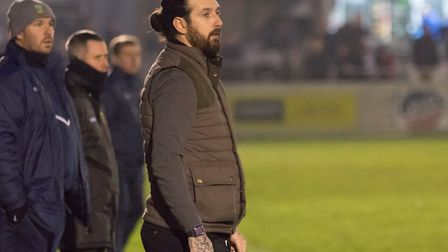 Hendon manager Lee Allinson (pic DBeechPhotography)