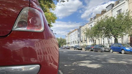 A car parked in a quiet road. Picture: Archant