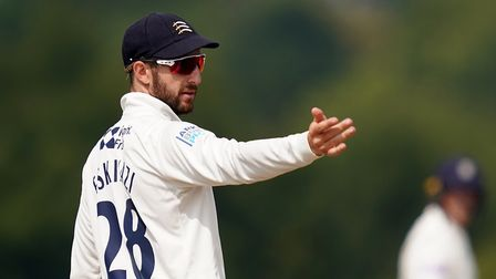 Middlesex's Stephen Eskinazi during day two of The Bob Willis Trophy match at Radlett Cricket Club,