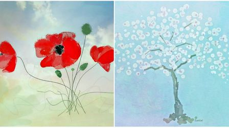 Two of Sarah's works: 'Seize the Day' (left) and 'You Surprised Me'. Picture: Sarah Ezekiel