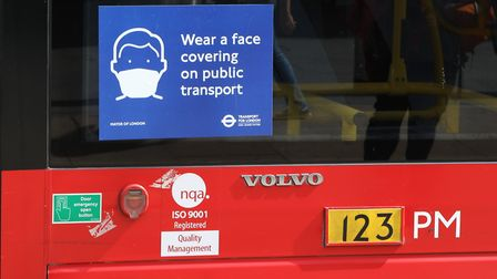 Are we becoming complacent about coronavirus? Picture: TfL