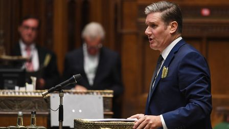 Sir Keir Starmer during Prime Minister's Questions in the House of Commons. Photograph: UK Parliamen