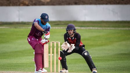 North Middlesex and Hampstead in action on the weekend (Pic: Leonard Martin Photography)
