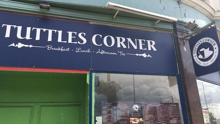 Tuttles Corner has apologised after a menu typo. Photo: James Carr.