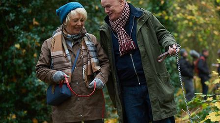 Alison Steadman and Dave Johns in 23 Walks