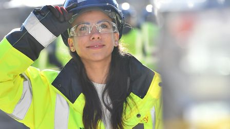 Charlotte Hughes, winner of Best Apprentice Working in the Supply Chain. Picture: Islington Council
