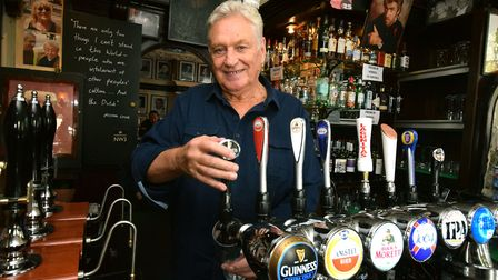 """Jimmy McGrath, landlord of the King William IV pub in Hampstead, said the restrictions """"could have b"""