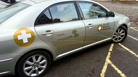 The support cars provided by Walnut Tree Health and Wellbeing. Photo: Walnut Tree Health and Wellbei