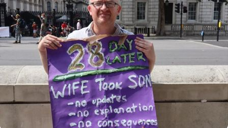Lone fathers account for 24 per cent of all lone parent households. Picture: Jone Da Cruz