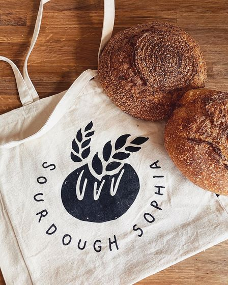 Jesse and Sophia Sutton-Jones have started their own sourdough business during lockdown and are now