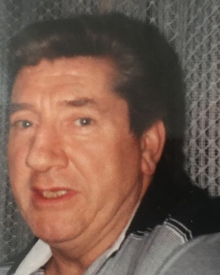 Angus Stewart senior, who died of lung cancer caused by hepatitis C. Picture: Stewart family
