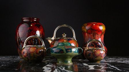 Moorcroft Pottery sold for a record amount by Dawsons auctioneers