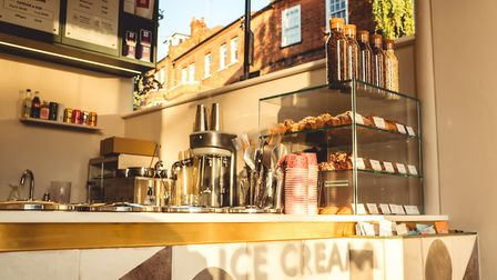 The Nook has opened at 42 South End Green a new coffee shop and ice-cream shop