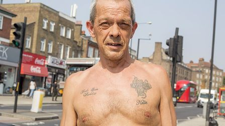 Stoke Newingto photographer Alex Amoros took to the streets of Hackney to take photos of people copi