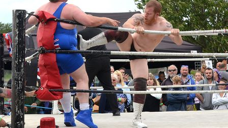 World Association of Wrestling at Oulton Broad Gala Day. Picture: Mick Howes