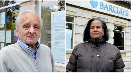 Maida Vale residents John Howard (left) and Jacqueline Hilton are angry at the decision. Picture: Po