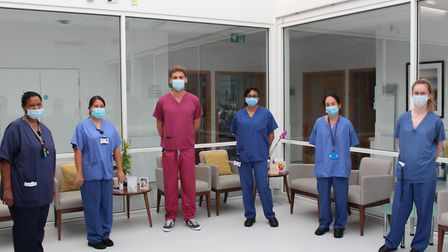 The inpatient team at St John's Hospice. Picture: St John's Hospice