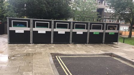 Attractively housed wheelie bins are already present in various council estates and are the norm in