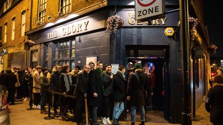 The Haggerston gay pub's co-owner John Sizzle says they are only making 30 to 40 per cent of the bus