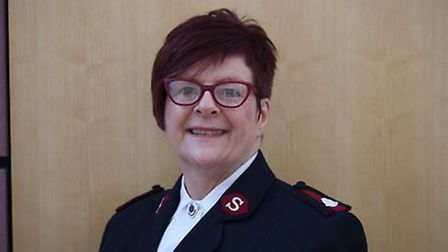 Major Kathryn Woodhouse. Photo courtesy of Salvation Army.
