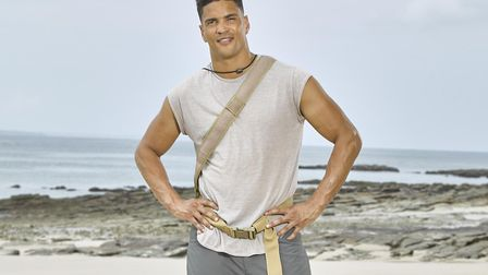 Anthony Ogogo is on the latest series of Celebrity Island with Bear Grylls. Photo: Channel 4 Televis