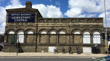 The Lowestoft station frontage. Picture: Courtesy of East Suffolk Lines Community Rail Partnership