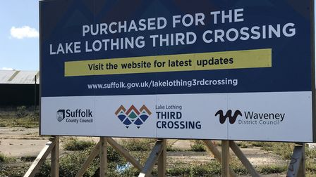 The site purchased for the new highway crossing of Lake Lothing. Photo: Neil Didsbury