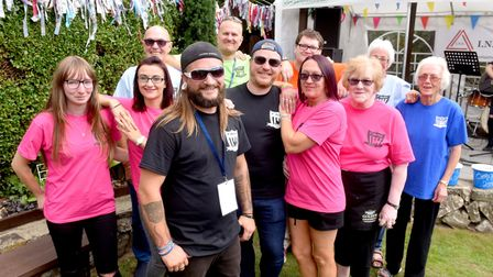 CARLFest 2018 event organisers at the Mariners Rest pub, Lowestoft.