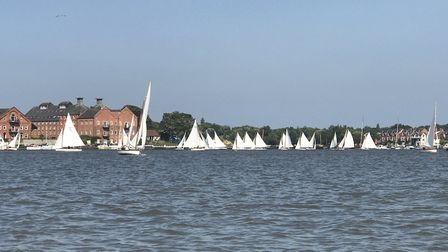 The water sports centre at Oulton Broad. Picture: Victoria Pertusa