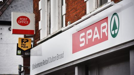 Spar shop closure on Oulton Road at Oulton Broad.Picture: ANTONY KELLY
