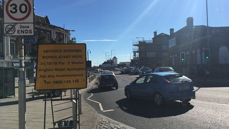 Roadworks due to start on Monday have been criticised by councillors. Picture: Conor Matchett