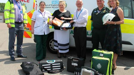 The EIV initiative has seen ambulance and therapy staff join forces to create a support system that