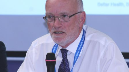 Liam Stevens, chairman of NHS Great Yarmouth and Waveney CCG. Picture: NHS Great Yarmouth and Wavene
