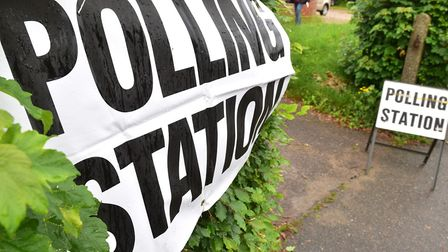 A polling station in Waveney. PHOTO: Nick Butcher