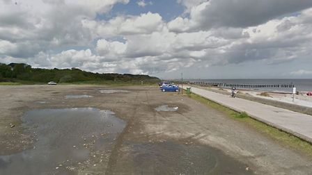 Links Road car park at Lowestoft's North Denes. Picture: Google